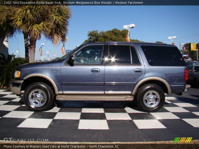 2002 ford expedition eddie bauer 4x4 in medium wedgewood blue metallic photo no 24814585. Black Bedroom Furniture Sets. Home Design Ideas