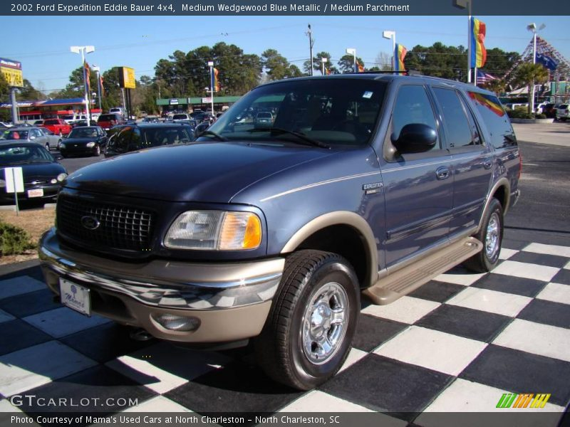 2002 ford expedition eddie bauer 4x4 in medium wedgewood blue metallic photo no 24814589. Black Bedroom Furniture Sets. Home Design Ideas