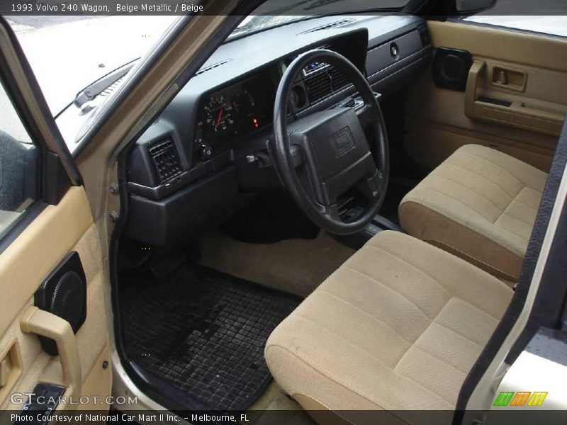 1993 volvo 240 wagon in beige metallic photo no 24878770. Black Bedroom Furniture Sets. Home Design Ideas