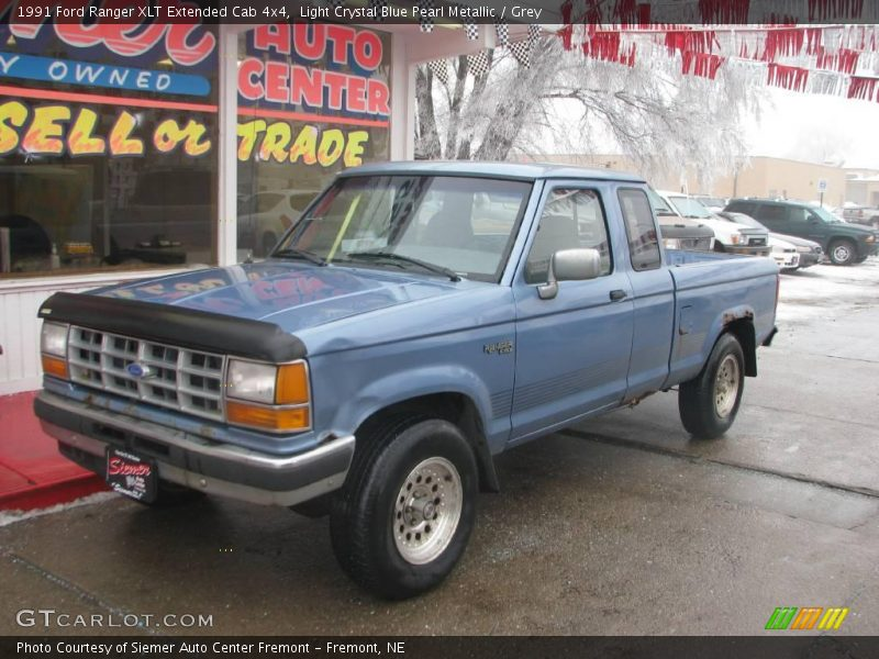 1991 ford ranger xlt extended cab 4x4 in light crystal. Black Bedroom Furniture Sets. Home Design Ideas