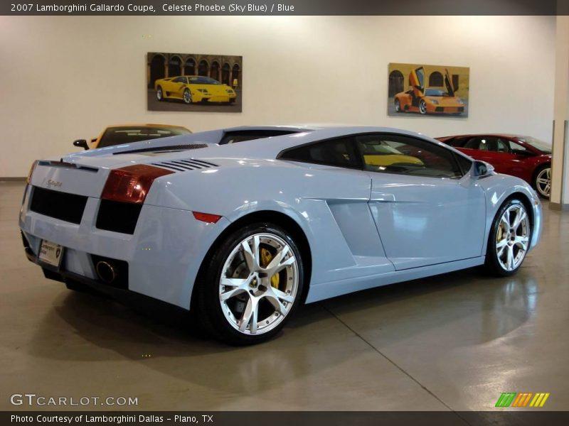 Celeste Phoebe (Sky Blue) / Blue 2007 Lamborghini Gallardo Coupe