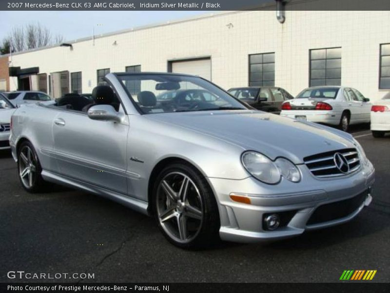 2007 mercedes benz clk 63 amg cabriolet in iridium silver for 2007 mercedes benz clk