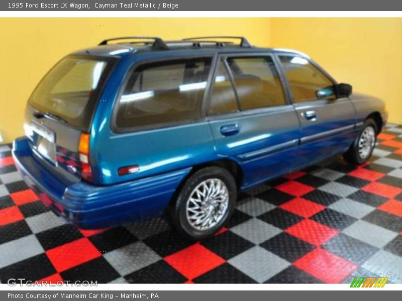 1995 ford escort lx wagon in cayman teal metallic photo no. Black Bedroom Furniture Sets. Home Design Ideas