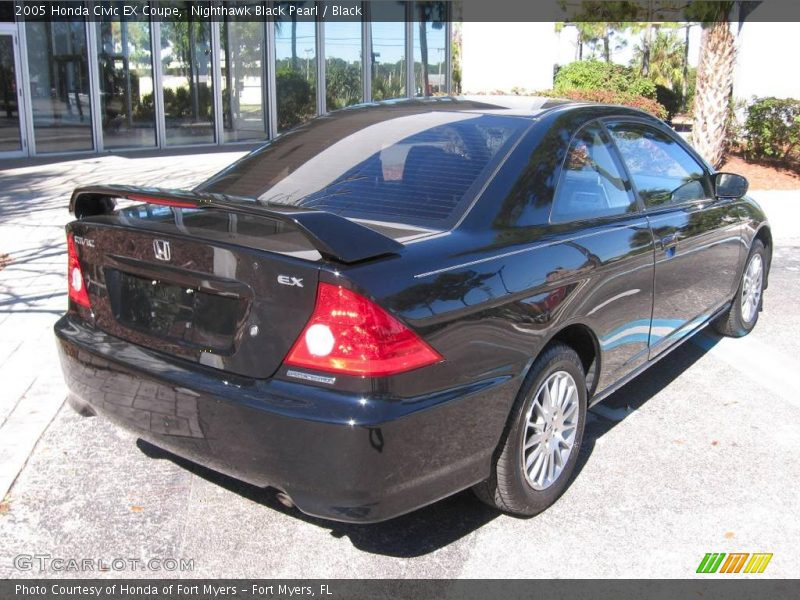 2005 honda civic ex coupe in nighthawk black pearl photo. Black Bedroom Furniture Sets. Home Design Ideas