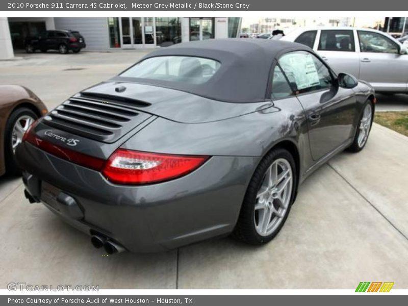 2010 porsche 911 carrera 4s cabriolet in meteor grey metallic photo no 25294164. Black Bedroom Furniture Sets. Home Design Ideas