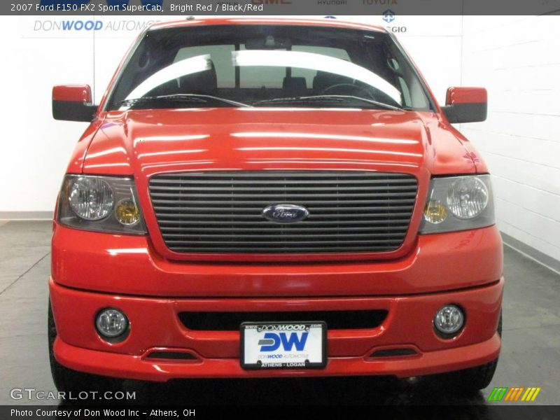 2007 ford f150 fx2 sport supercab in bright red photo no 25363983. Black Bedroom Furniture Sets. Home Design Ideas