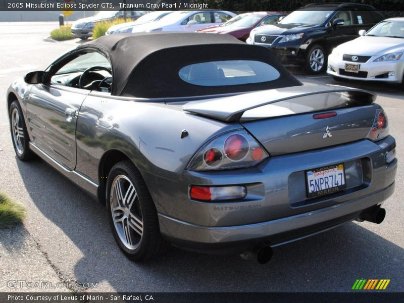2005 mitsubishi eclipse spyder gts in titanium gray pearl photo no 25420645. Black Bedroom Furniture Sets. Home Design Ideas