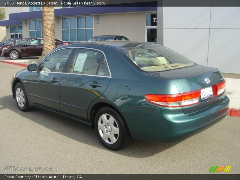 2003 honda accord ex sedan in noble green pearl photo no for 2003 honda accord ex sedan