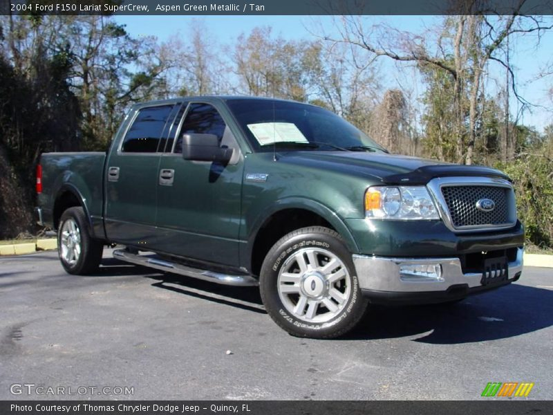 2004 ford f150 lariat supercrew in aspen green metallic. Black Bedroom Furniture Sets. Home Design Ideas