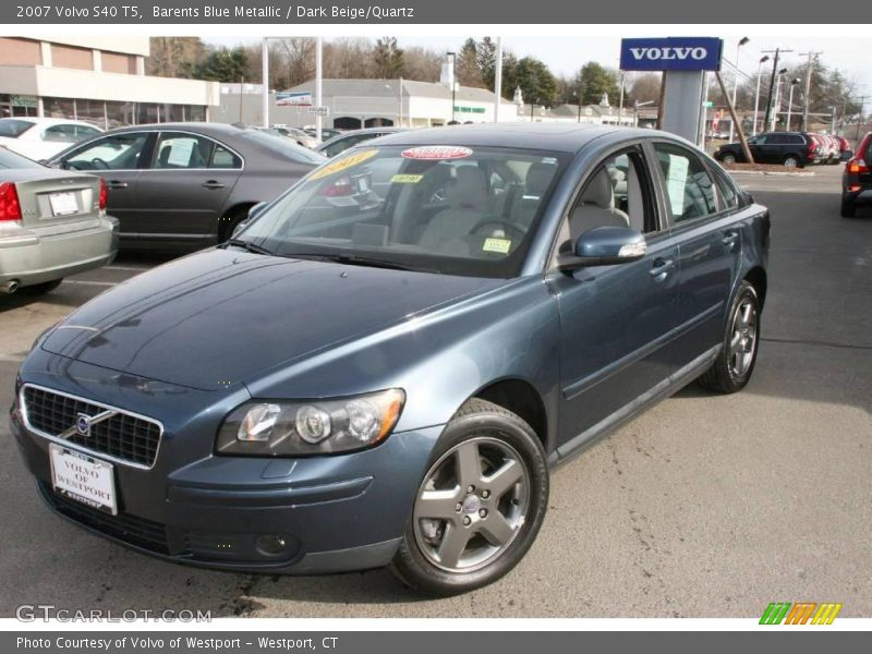 2007 volvo s40 t5 in barents blue metallic photo no. Black Bedroom Furniture Sets. Home Design Ideas