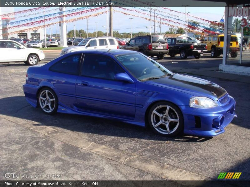 2000 honda civic si coupe in electron blue pearl photo no 25468742. Black Bedroom Furniture Sets. Home Design Ideas