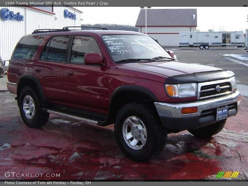 1996 toyota 4runner sr5 4x4 in sunfire red pearl photo no. Black Bedroom Furniture Sets. Home Design Ideas