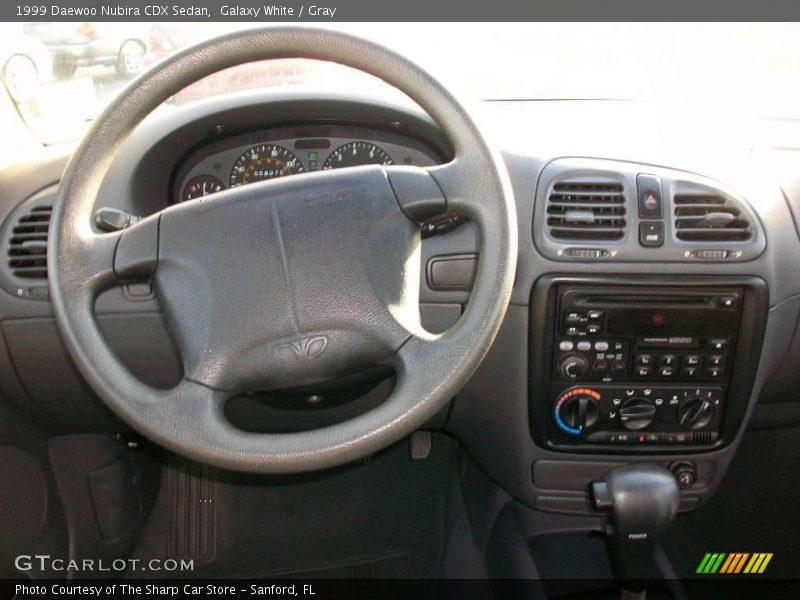 Galaxy White / Gray 1999 Daewoo Nubira CDX Sedan