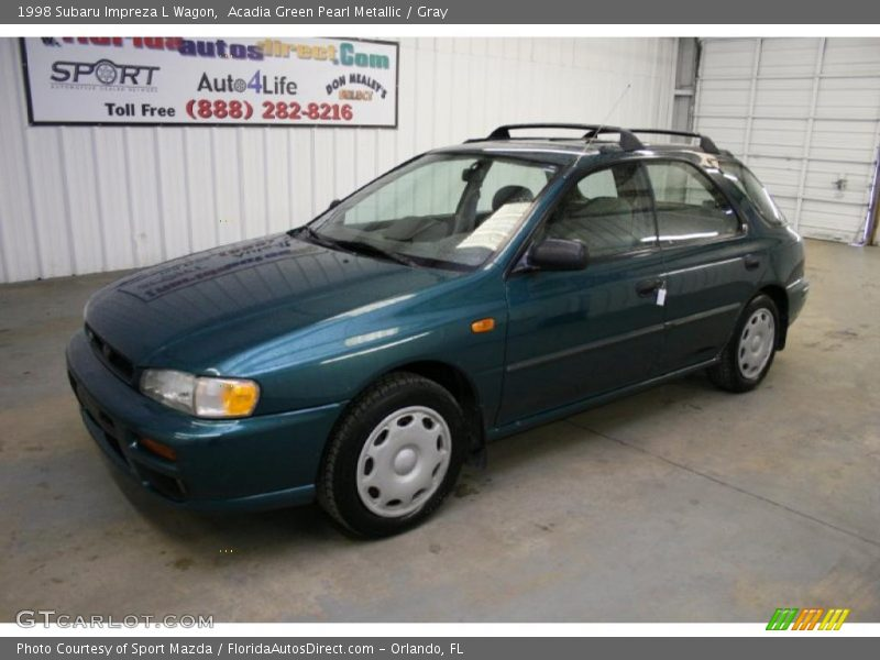 1998 subaru impreza l wagon in acadia green pearl metallic. Black Bedroom Furniture Sets. Home Design Ideas