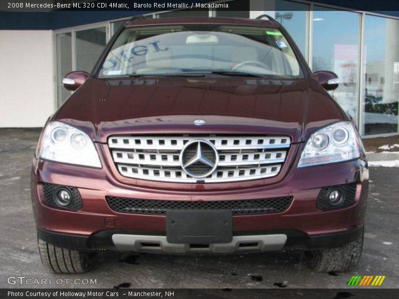 2008 mercedes benz ml 320 cdi 4matic in barolo red. Black Bedroom Furniture Sets. Home Design Ideas