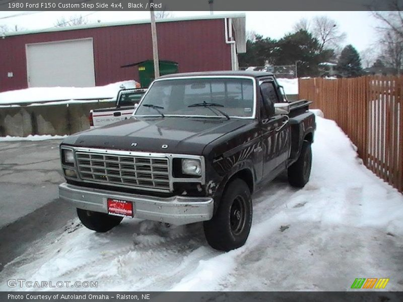 1980 ford f150 custom step side 4x4 in black photo no 1981 Ford Truck 4x4 1980 ford 4x4 trucks for sale