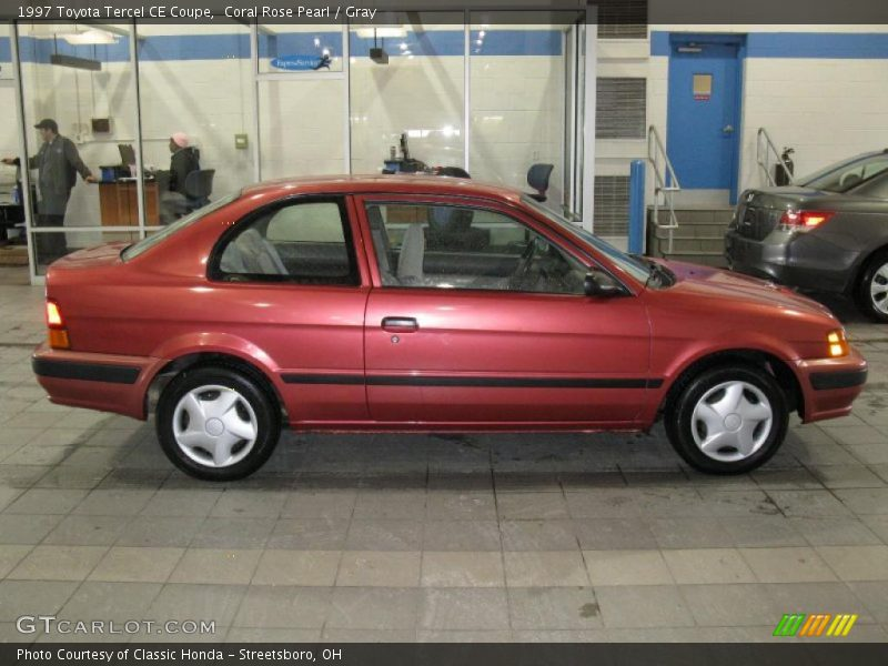 1997 toyota tercel ce coupe in coral rose pearl photo no. Black Bedroom Furniture Sets. Home Design Ideas