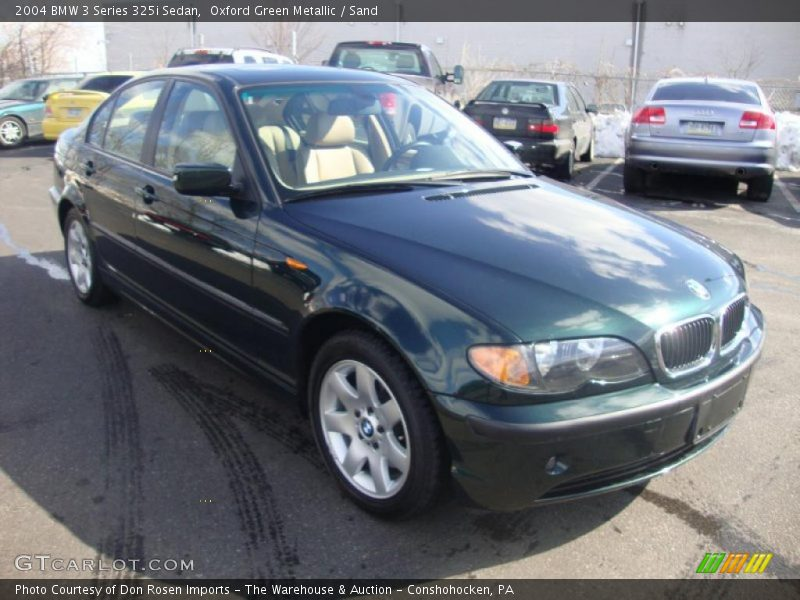 2004 bmw 3 series 325i sedan in oxford green metallic. Black Bedroom Furniture Sets. Home Design Ideas
