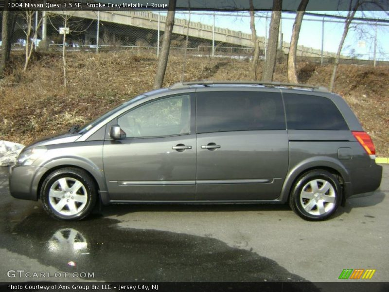 2004 nissan quest 3 5 se in smoke gray metallic photo no 26199752. Black Bedroom Furniture Sets. Home Design Ideas