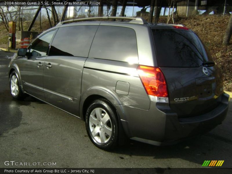 2004 nissan quest 3 5 se in smoke gray metallic photo no 26199772. Black Bedroom Furniture Sets. Home Design Ideas