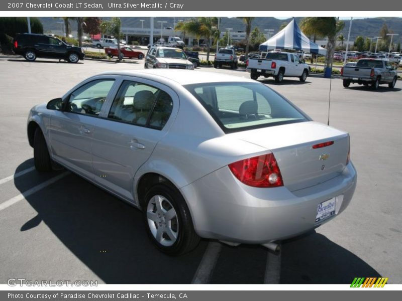 2007 chevrolet cobalt lt sedan in ultra silver metallic. Black Bedroom Furniture Sets. Home Design Ideas