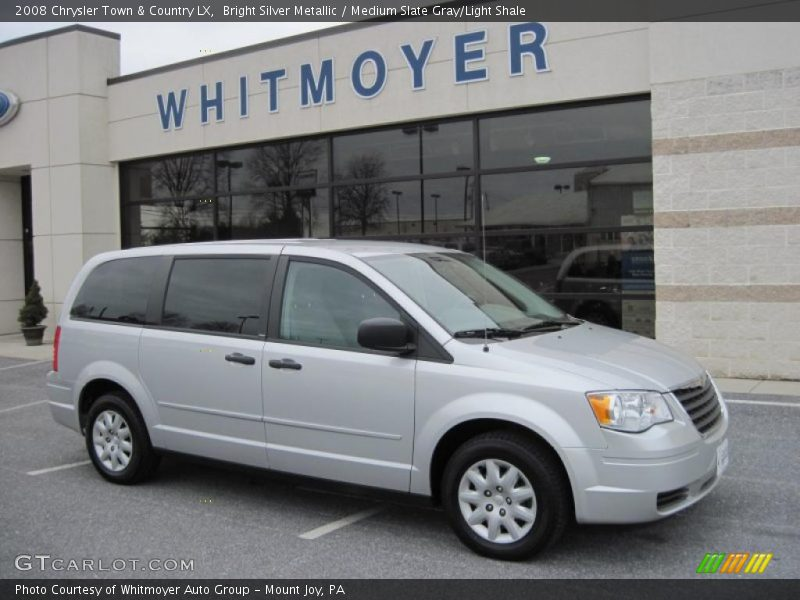 2008 chrysler town country lx in bright silver metallic photo no 26461065. Black Bedroom Furniture Sets. Home Design Ideas