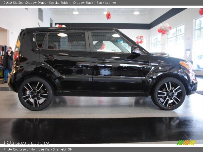 Black Car Paint >> 2010 Kia Soul Shadow Dragon Special Edition in Shadow Black Photo No. 26566978 | GTCarLot.com