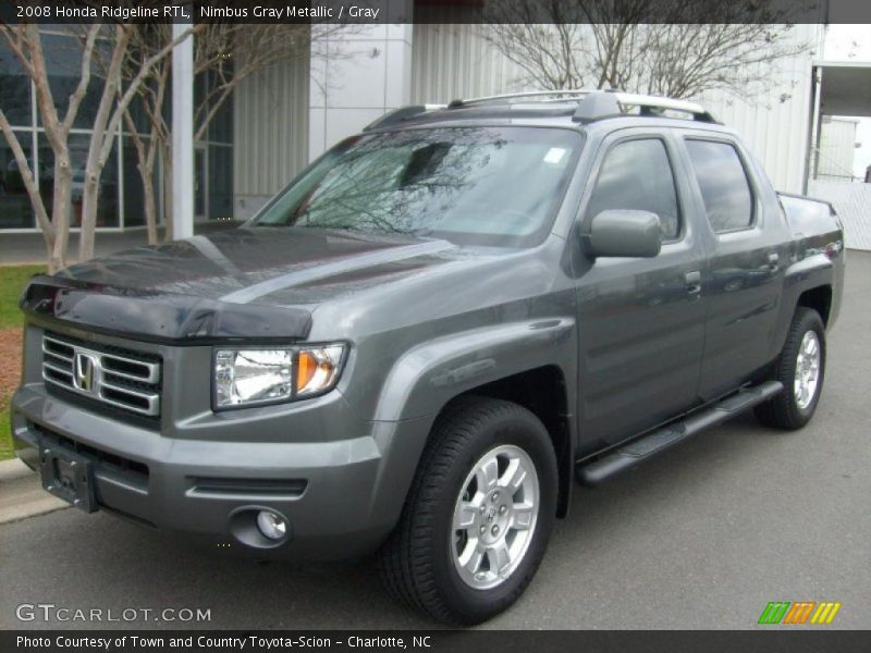 2008 Honda Ridgeline RTL in Nimbus Gray Metallic Photo No. 26589414 ...