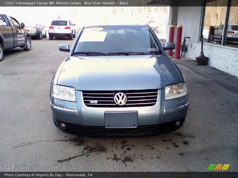 2003 volkswagen passat w8 4motion sedan in blue silver metallic photo no 26706404. Black Bedroom Furniture Sets. Home Design Ideas
