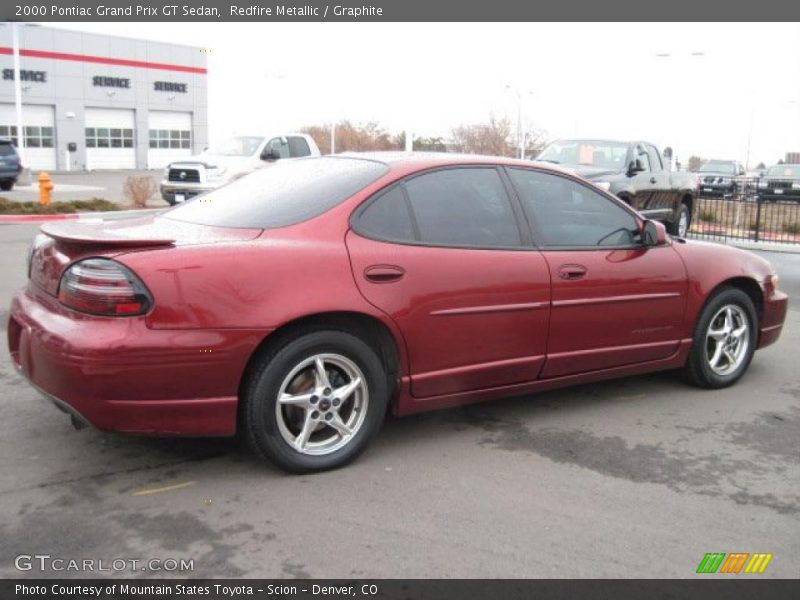 2000 pontiac grand prix gt sedan in redfire metallic photo no 26782915. Black Bedroom Furniture Sets. Home Design Ideas