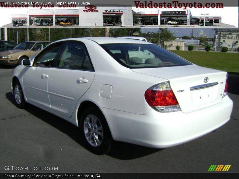 2006 toyota camry xle v6 in super white photo no 2678377. Black Bedroom Furniture Sets. Home Design Ideas
