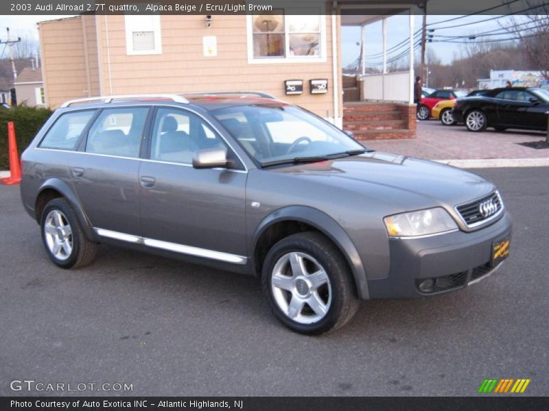 2003 audi allroad 2 7t quattro in alpaca beige photo no 26801619. Black Bedroom Furniture Sets. Home Design Ideas