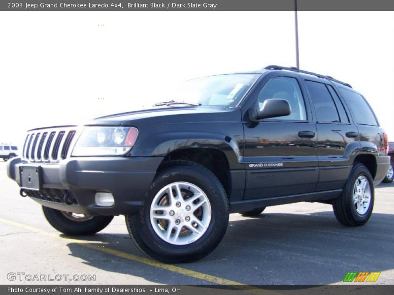 black dark slate gray 2003 jeep grand cherokee laredo 4x4 photo 5. Cars Review. Best American Auto & Cars Review