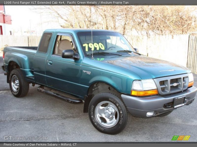 1998 ford ranger xlt extended cab 4x4 in pacific green metallic photo no 26887690. Black Bedroom Furniture Sets. Home Design Ideas