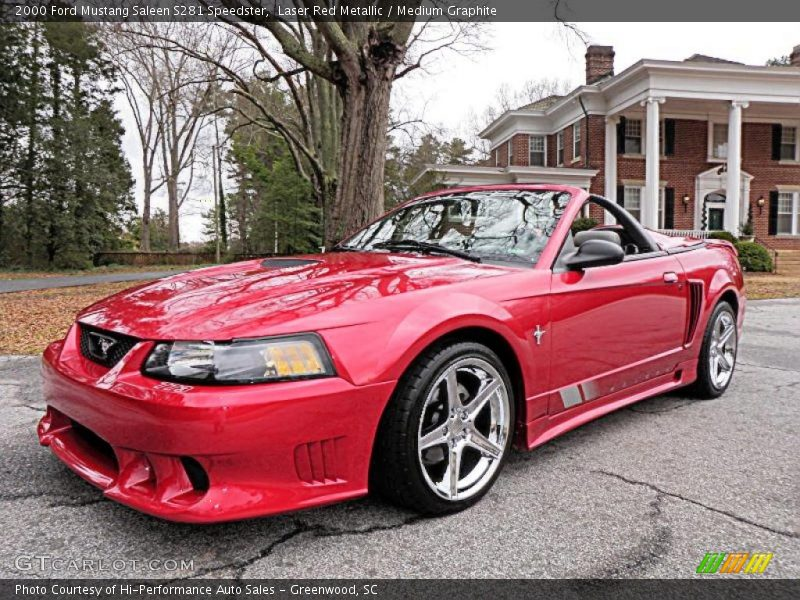 2000 mustang saleen s281 speedster laser red metallic. Black Bedroom Furniture Sets. Home Design Ideas