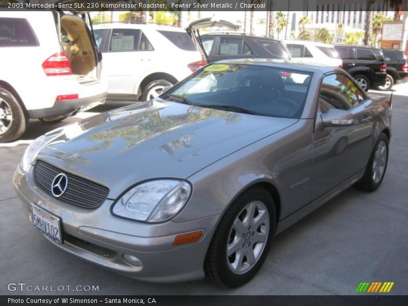 2003 mercedes benz slk 230 kompressor roadster in pewter. Black Bedroom Furniture Sets. Home Design Ideas