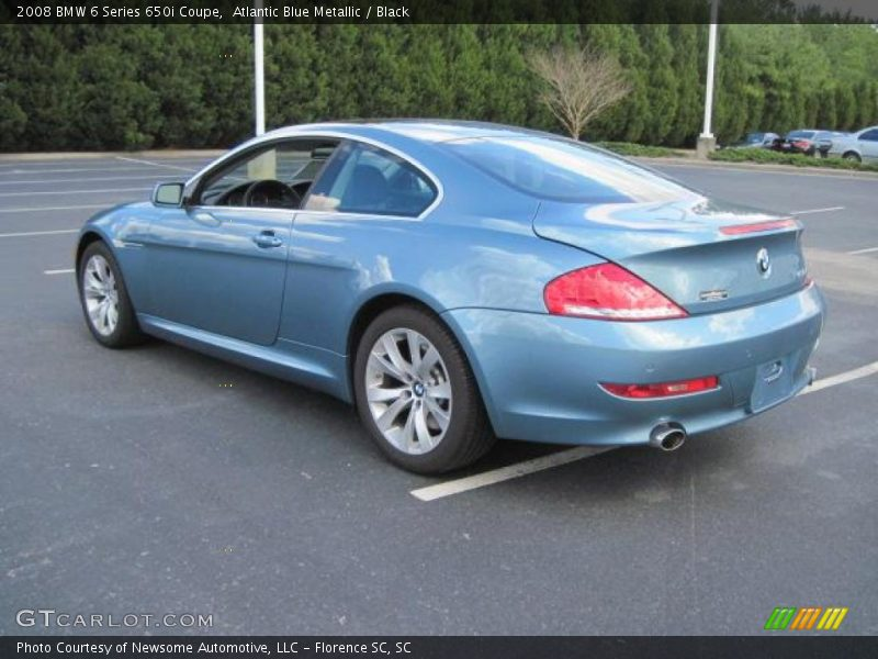 2008 bmw 6 series 650i coupe in atlantic blue metallic. Black Bedroom Furniture Sets. Home Design Ideas