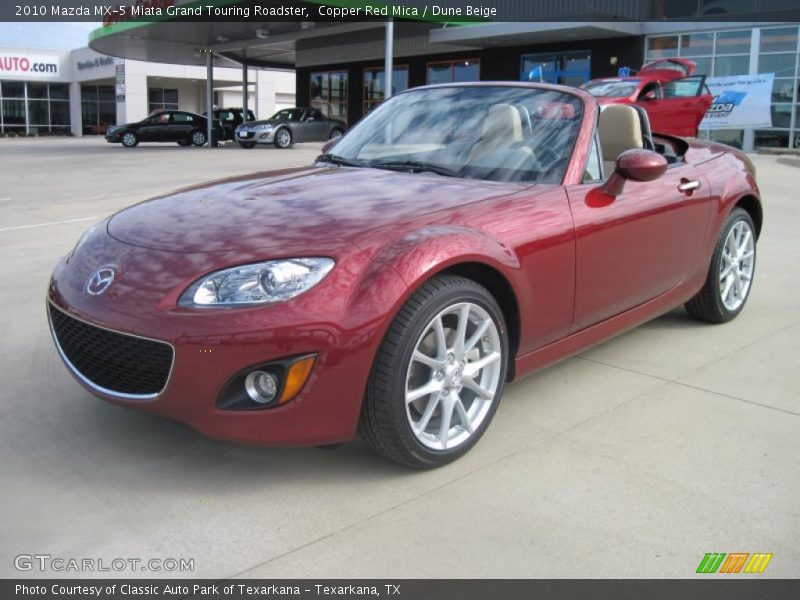 2010 mazda mx 5 miata grand touring roadster in copper red. Black Bedroom Furniture Sets. Home Design Ideas