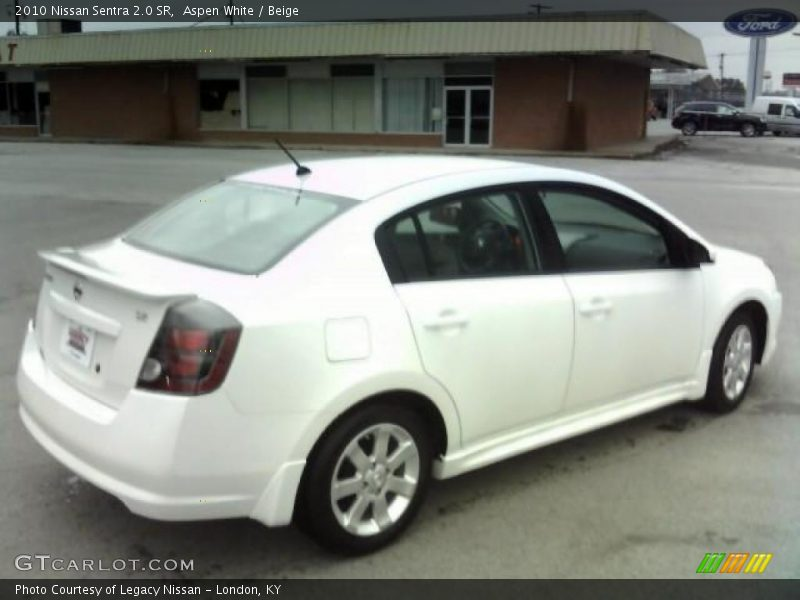 2010 nissan sentra 2 0 sr in aspen white photo no 27230768. Black Bedroom Furniture Sets. Home Design Ideas