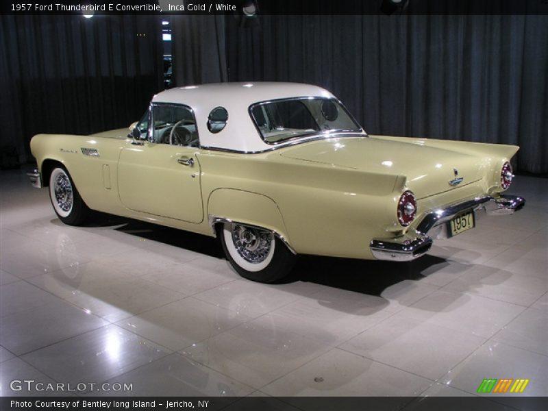 1957 Ford Thunderbird E Convertible in Inca Gold Photo No. 273405 ...