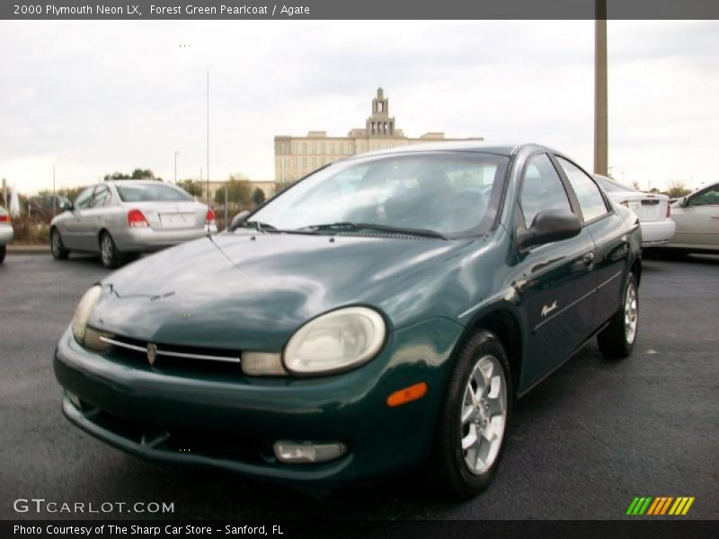 2000 plymouth neon lx in forest green pearlcoat photo no. Black Bedroom Furniture Sets. Home Design Ideas