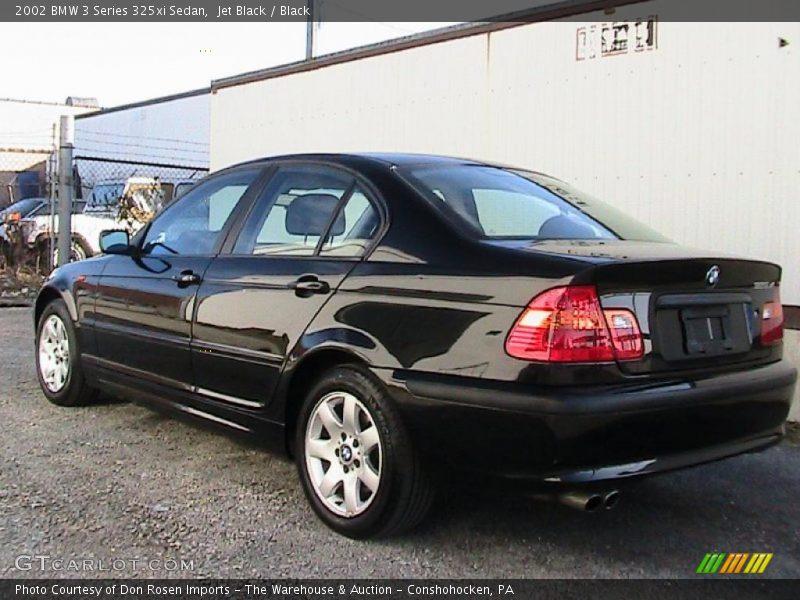 2002 bmw 3 series 325xi sedan in jet black photo no. Black Bedroom Furniture Sets. Home Design Ideas