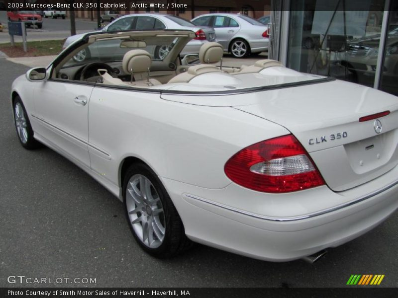 2009 mercedes benz clk 350 cabriolet in arctic white photo for G stone motors used cars