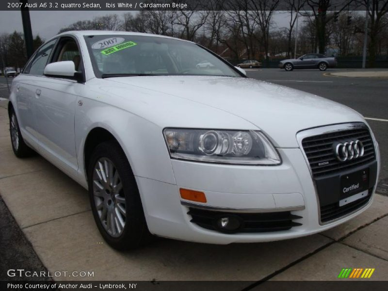 2007 audi a6 3 2 quattro sedan in ibis white photo no 27568122. Black Bedroom Furniture Sets. Home Design Ideas