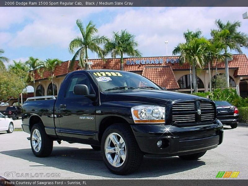 2006 dodge ram 1500 sport regular cab in black photo no 27573709. Black Bedroom Furniture Sets. Home Design Ideas