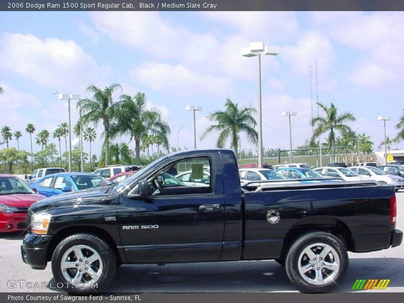 2006 dodge ram 1500 sport regular cab in black photo no 27573885. Black Bedroom Furniture Sets. Home Design Ideas