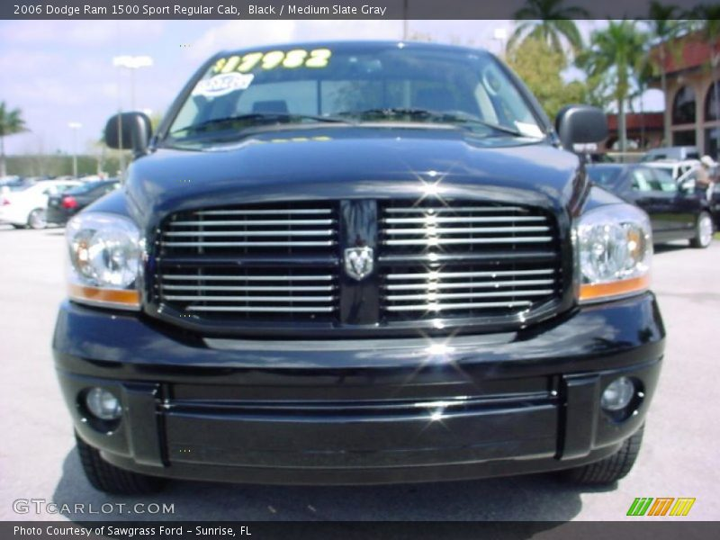 2006 dodge ram 1500 sport regular cab in black photo no 27573933. Black Bedroom Furniture Sets. Home Design Ideas