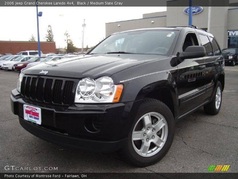 black medium slate gray 2006 jeep grand cherokee laredo 4x4 photo 1. Cars Review. Best American Auto & Cars Review