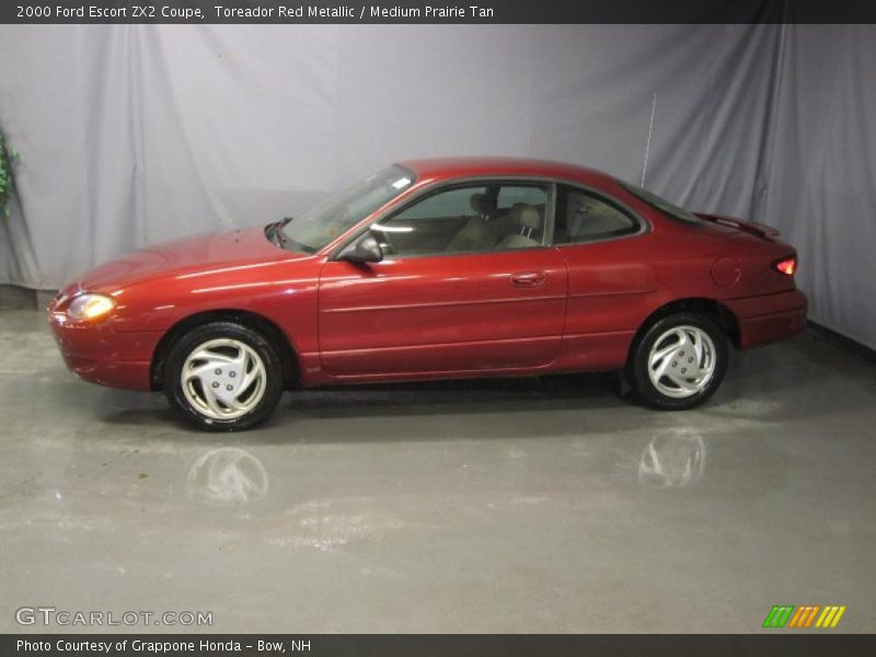 2000 ford escort zx2 coupe in toreador red metallic photo. Black Bedroom Furniture Sets. Home Design Ideas