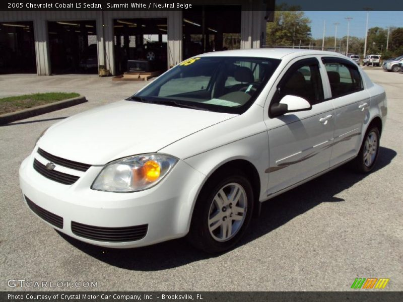 2005 chevrolet cobalt ls sedan in summit white photo no. Black Bedroom Furniture Sets. Home Design Ideas